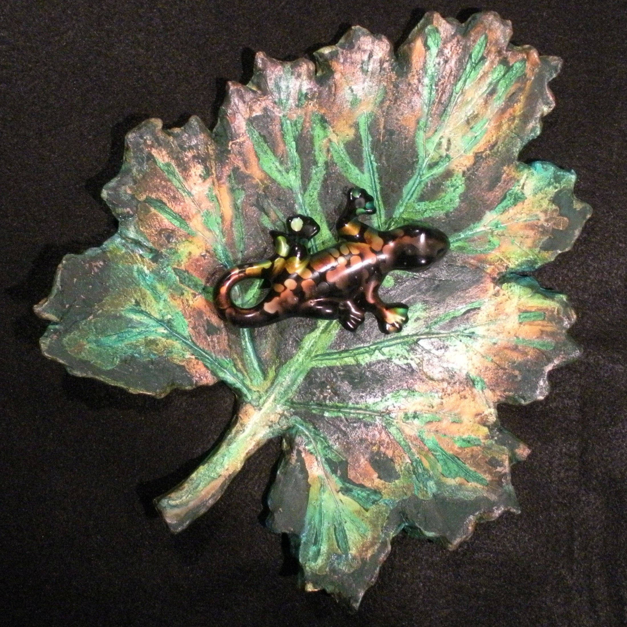 Chameleon Leaf Art-25