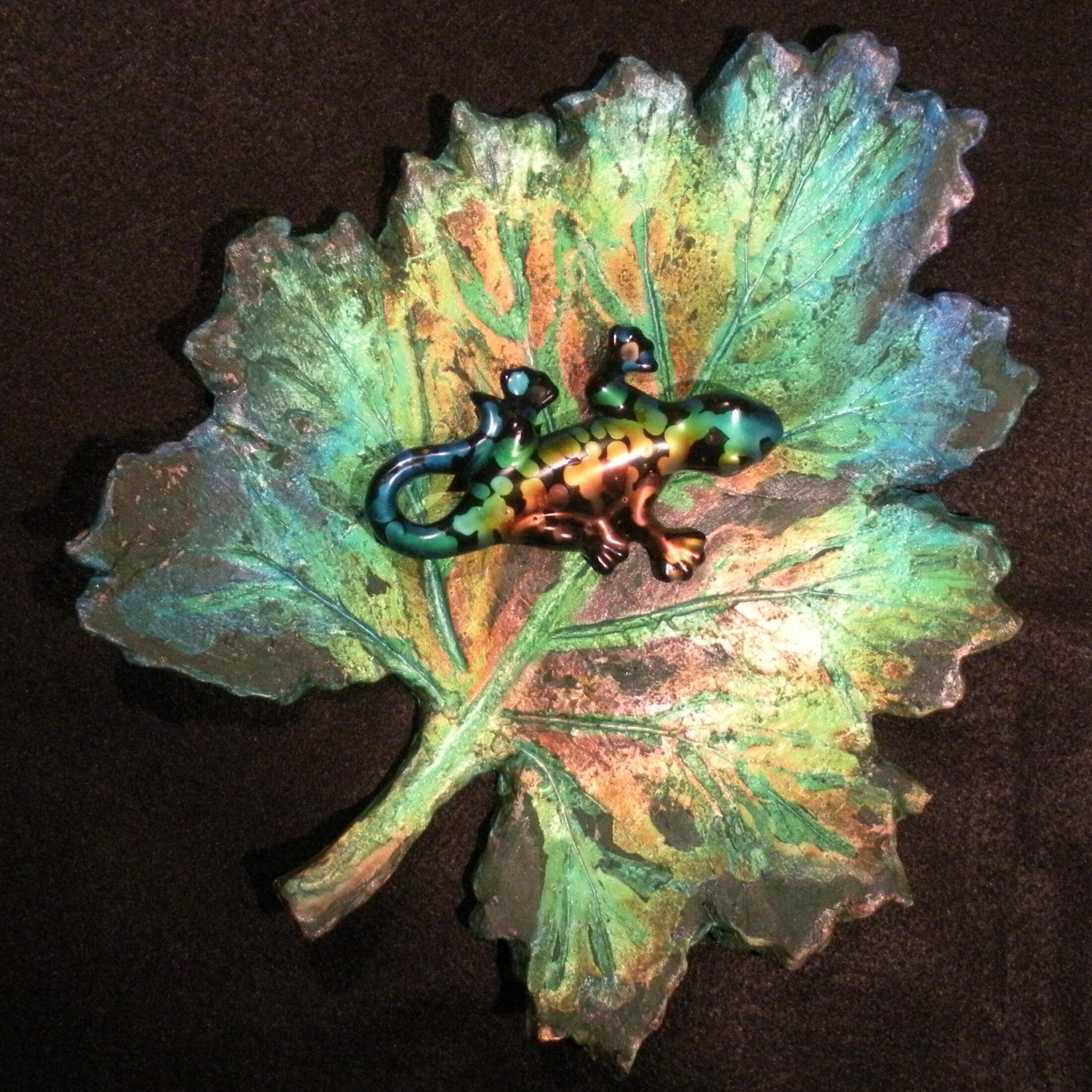 Chameleon Leaf Art-39