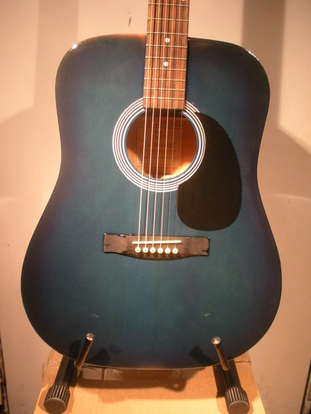 Touch Sensitive Color Changing Guitar 073