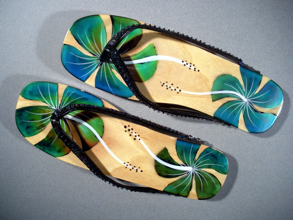 Touch Sensitive Color Changing Sandals 150