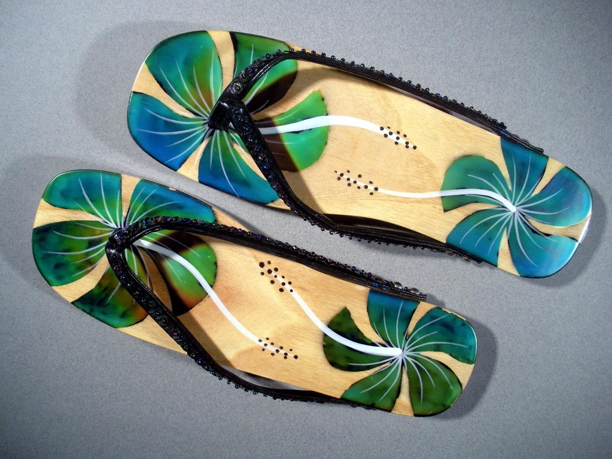 Touch Sensitive Color Changing Sandals 150